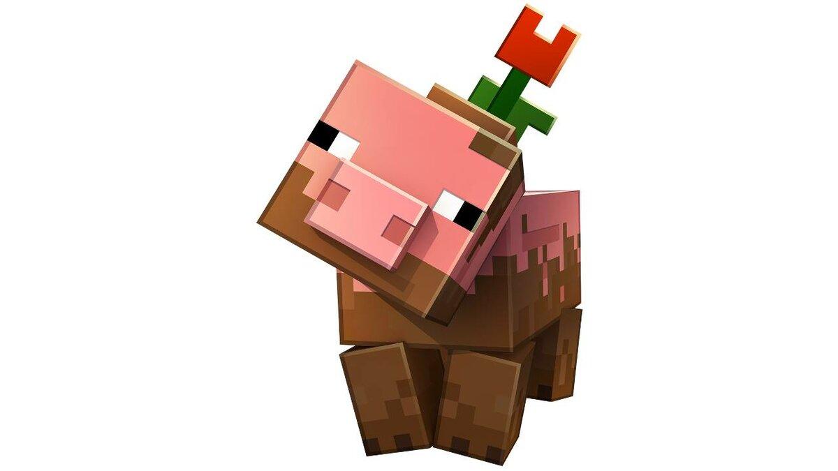Картинки для серверов майнкрафт со свинкой
