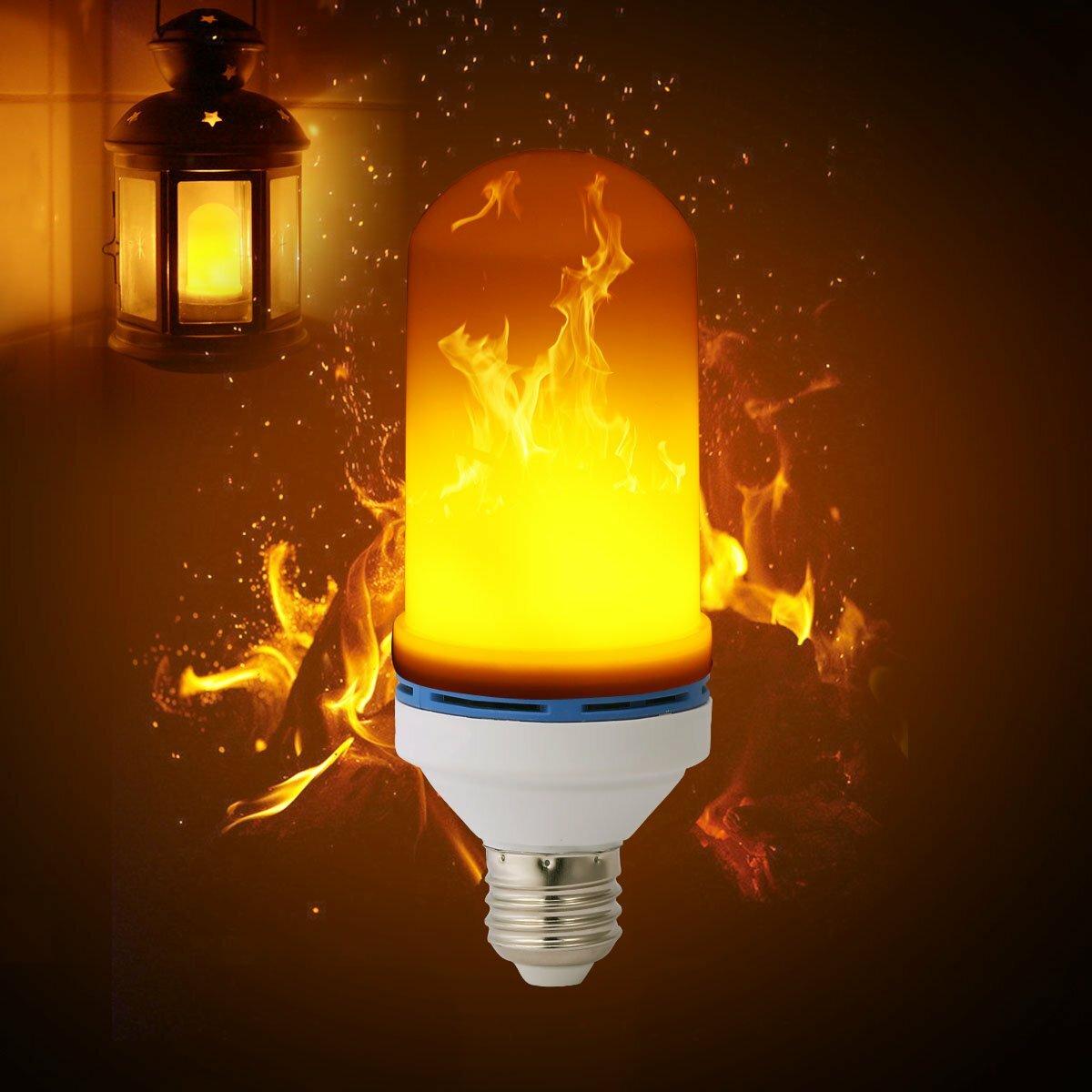 Лампа LED с эффектом пламени в Рудном
