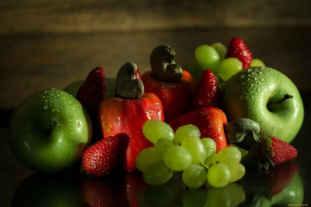 Картинки фруктов и ягод на рабочий стол