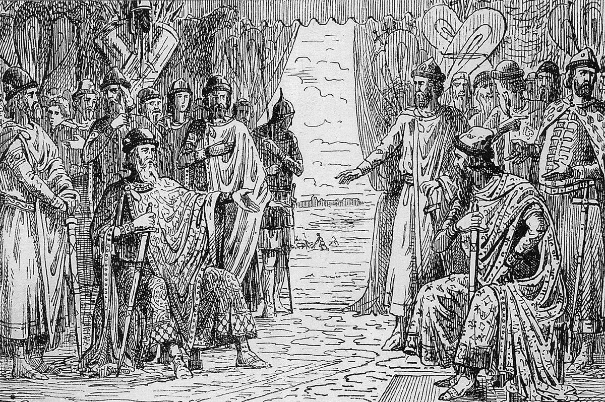 19 октября 1097 года на совете князей в Любече узаконено разделение Руси на удельные княжества