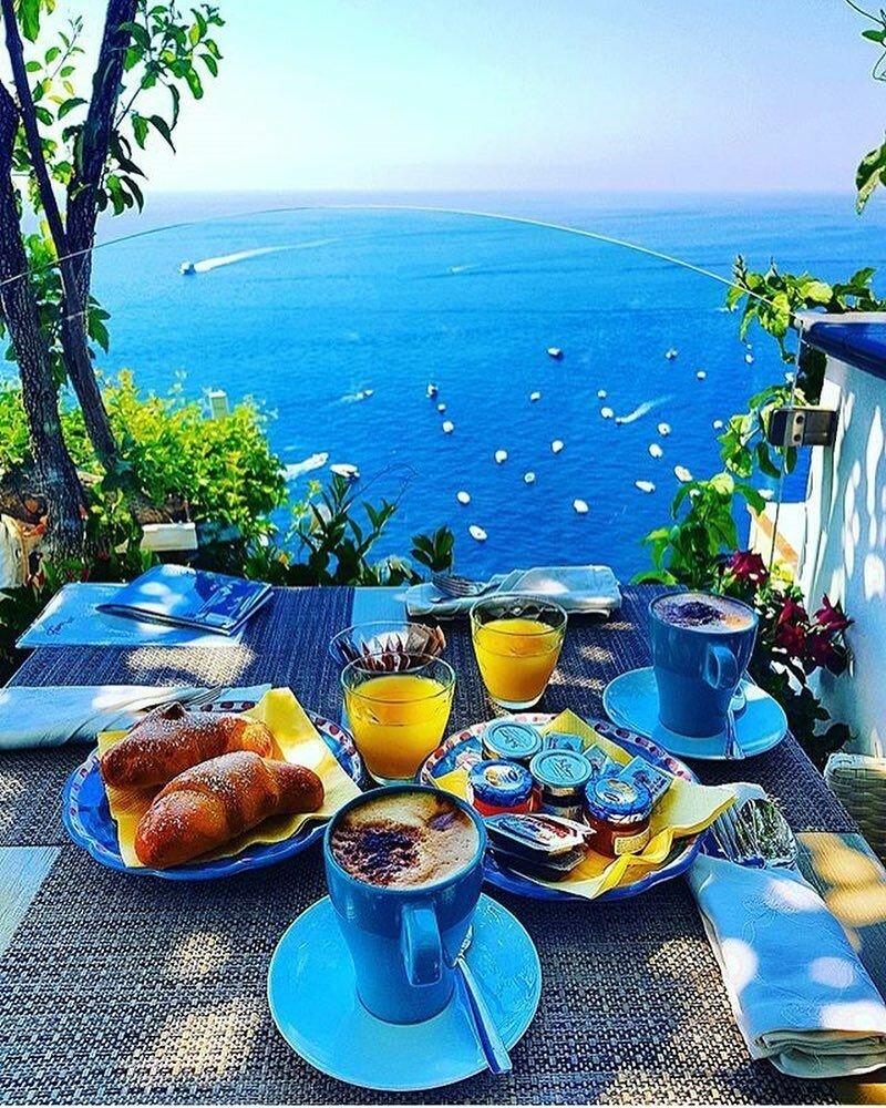 Картинки с добрым утром морские летние