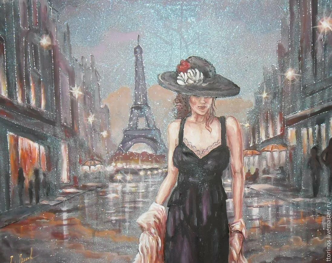 Пожеланием доброго, картинки красивых дам в шляпах в кафе парижа