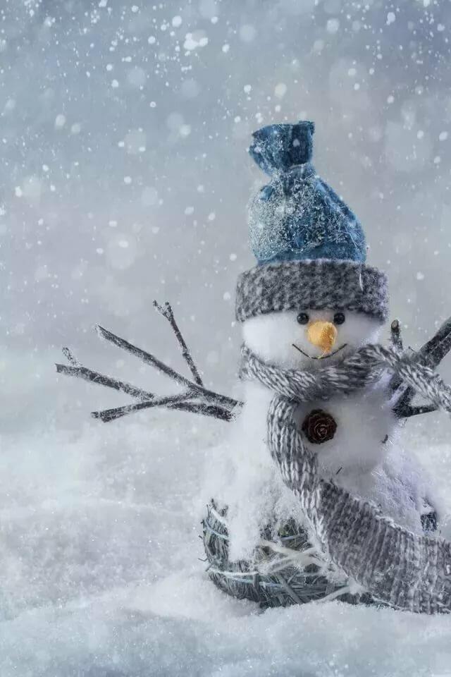 Зима картинка на заставку телефона