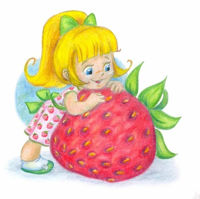 Картинки ягодок для детского сада, днем