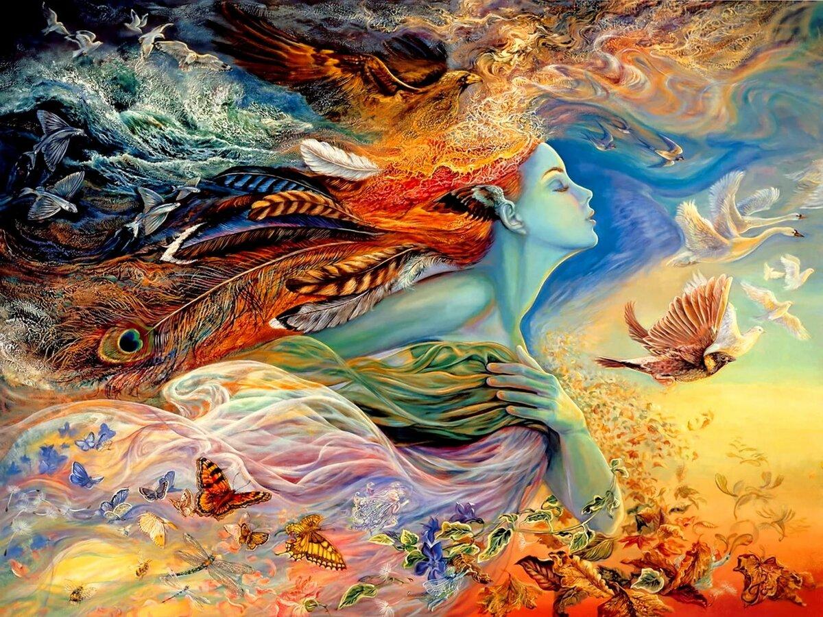 душа в картинках и рисунках как один древнейших