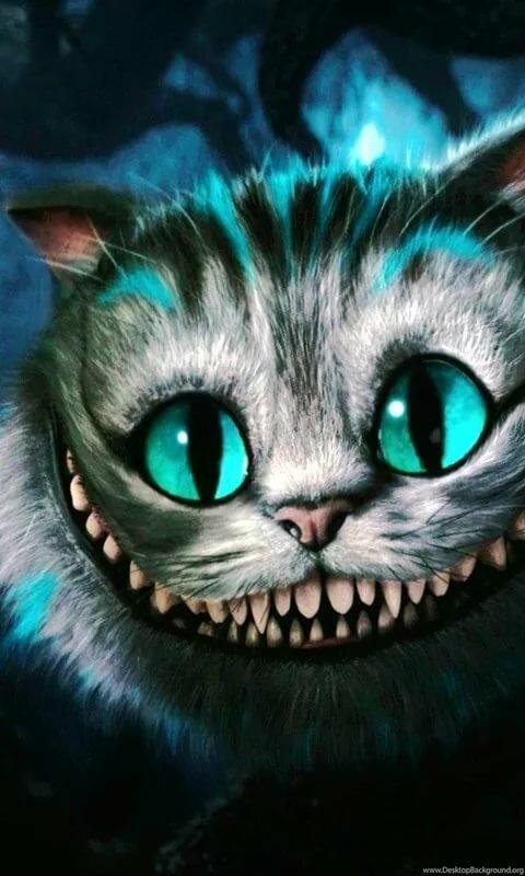 частности, чеширский кот картинка вертикальная реза