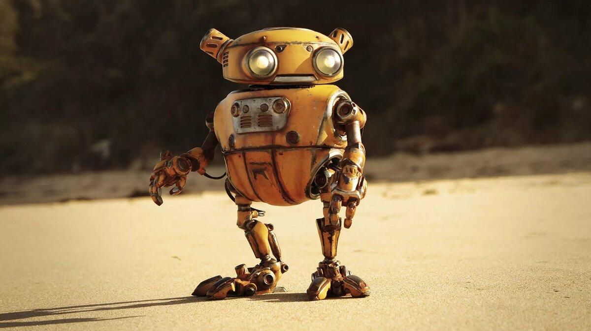 Картинка с роботом смешная