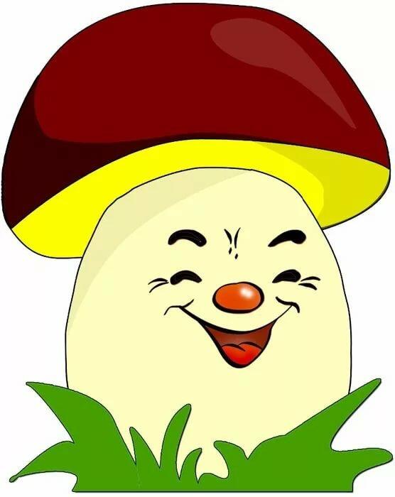 Картинки веселые грибочки для детского сада, приколы