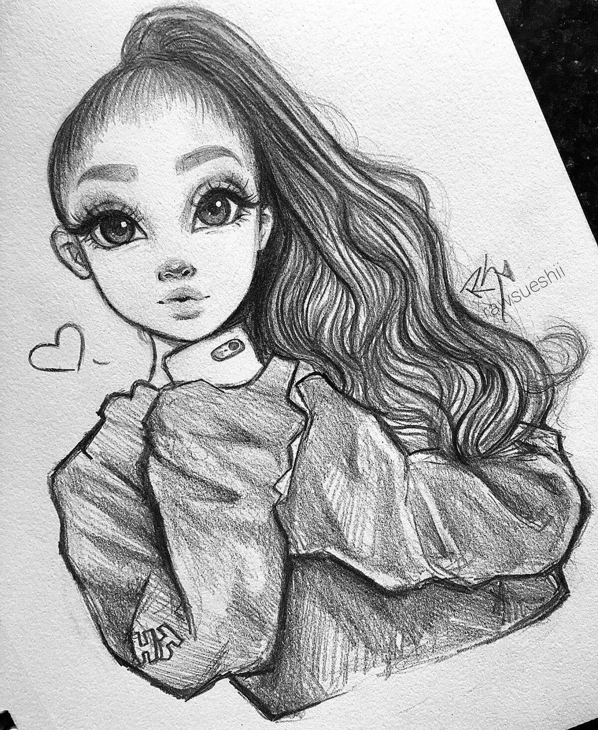 Крутые картинки для девочек 14 лет рисовать, наступающим рождеством новым