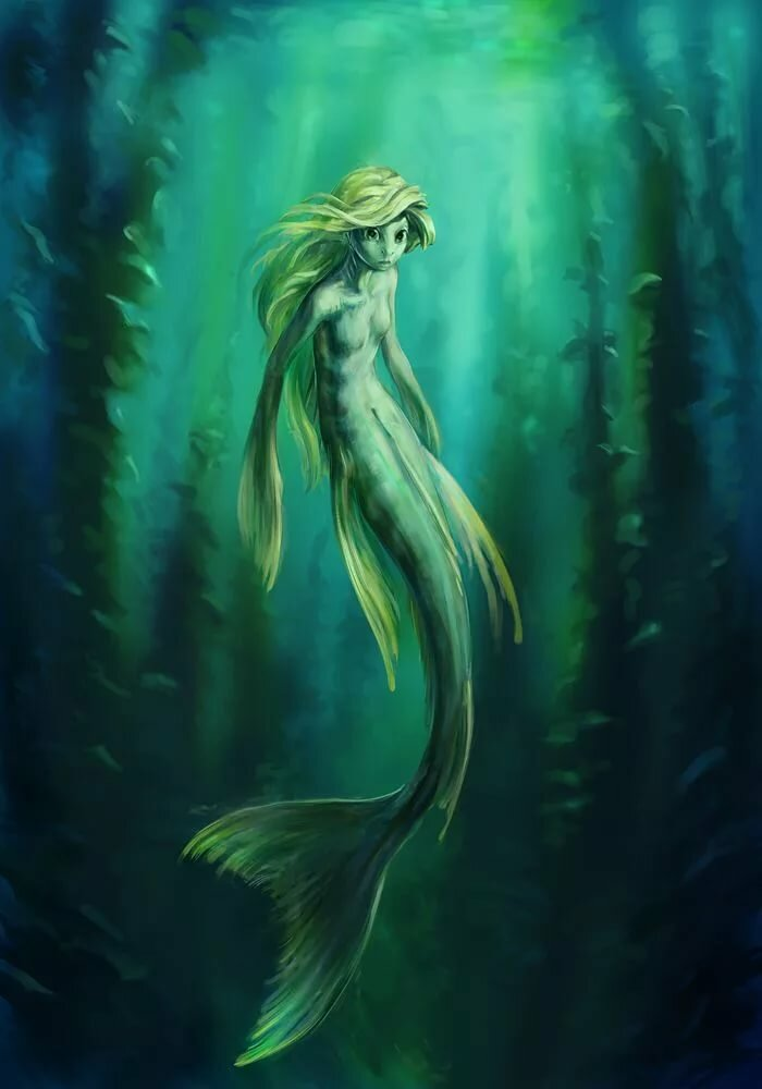 Картинки русалок болотных