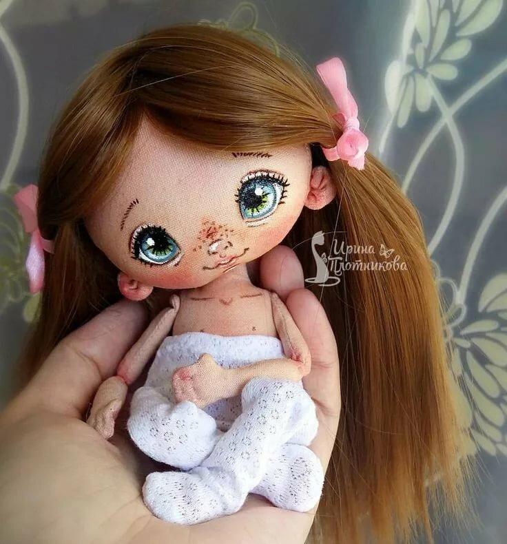 Ирина Плотникова Dolli малышки Куколки, Куклы из ткани и Куклы