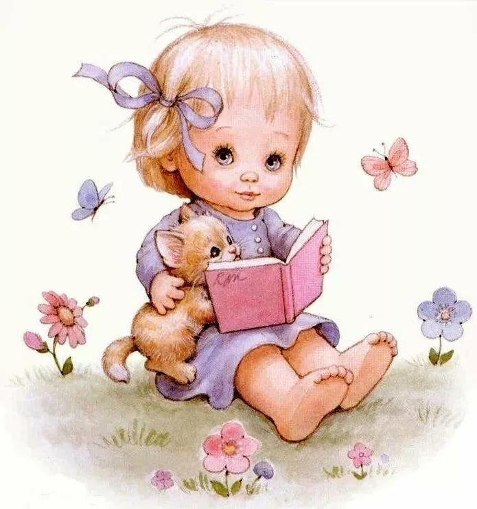 Юбилеем женщине, милые малыши открытки
