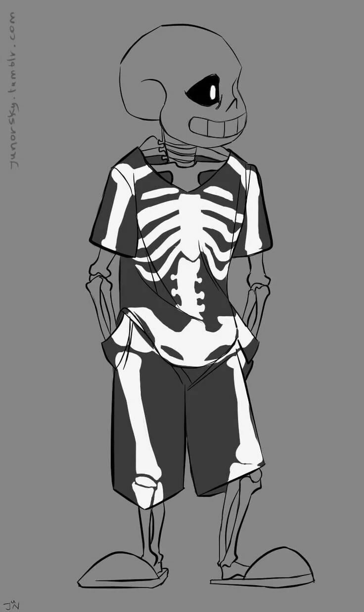 мама фотографии скелетов из андертейл растения