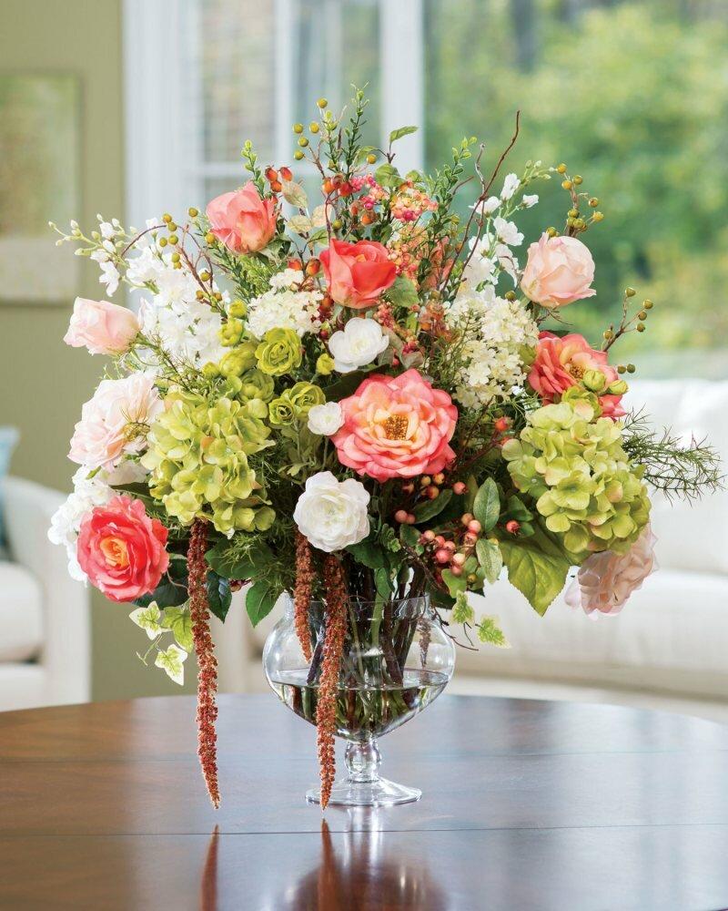 Букеты в квартире фото, цветы