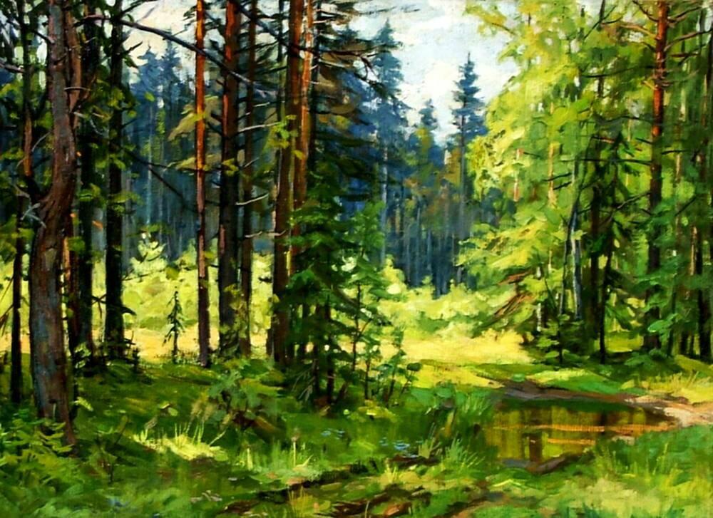 кто картинки сказочного летнего леса классическая