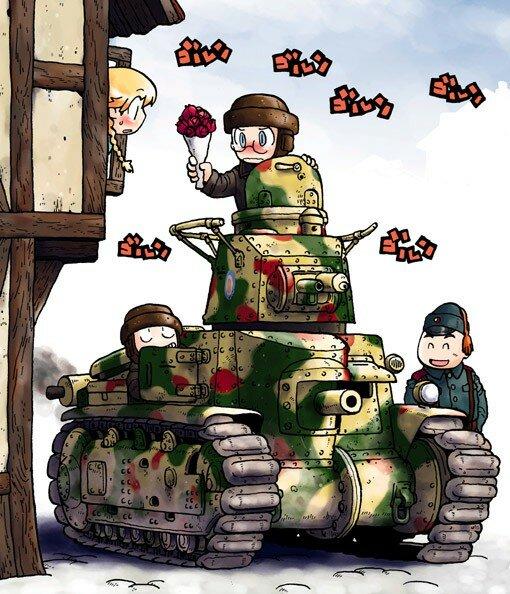 Открытки прикольные с 23 танки, маме