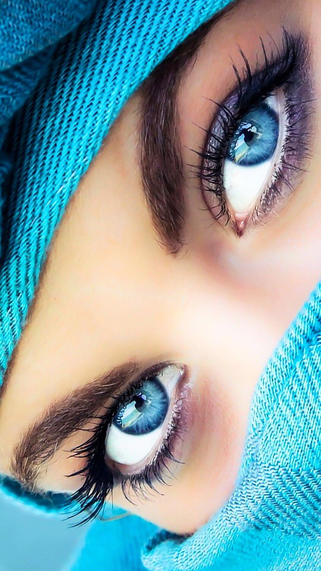 Девушка красивые глаза картинки