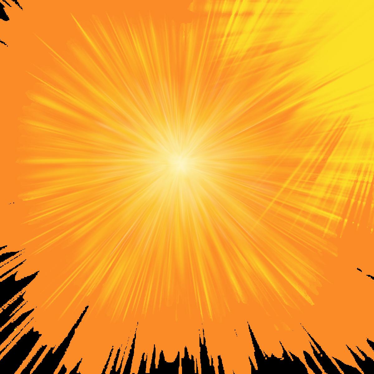 Картинки сияющего солнца на прозрачном фоне профессиональных видов