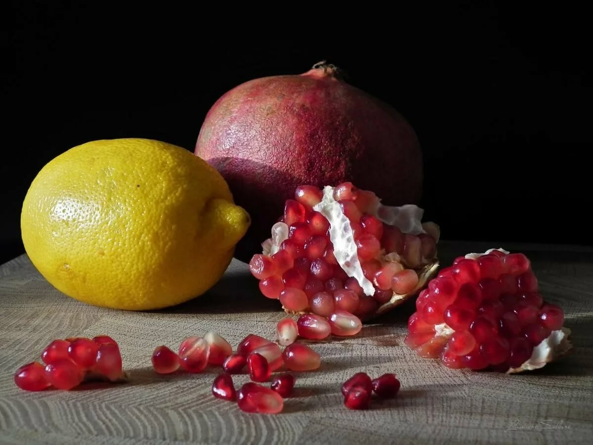 Для, картинка натюрморт фрукты