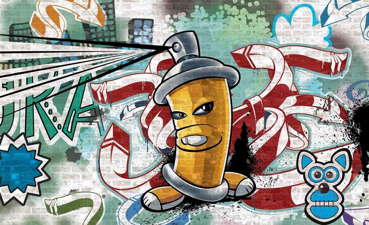 Обои на андроид граффити на телефон