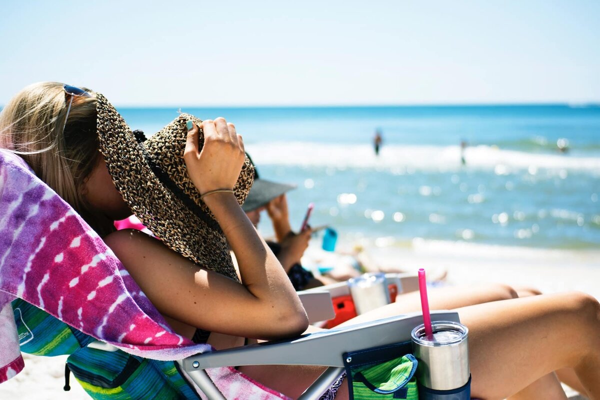 Картинки отпуск на пляже, девушек голых