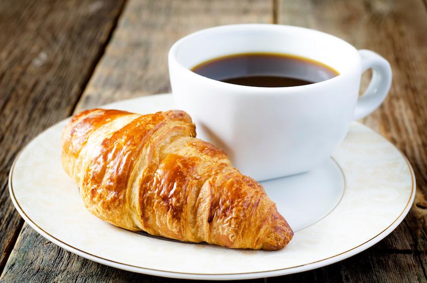 приготовьтесь открытка кофе с круассаном напишете себя