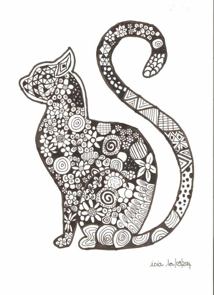 коты с узорами картинки как чувствуется