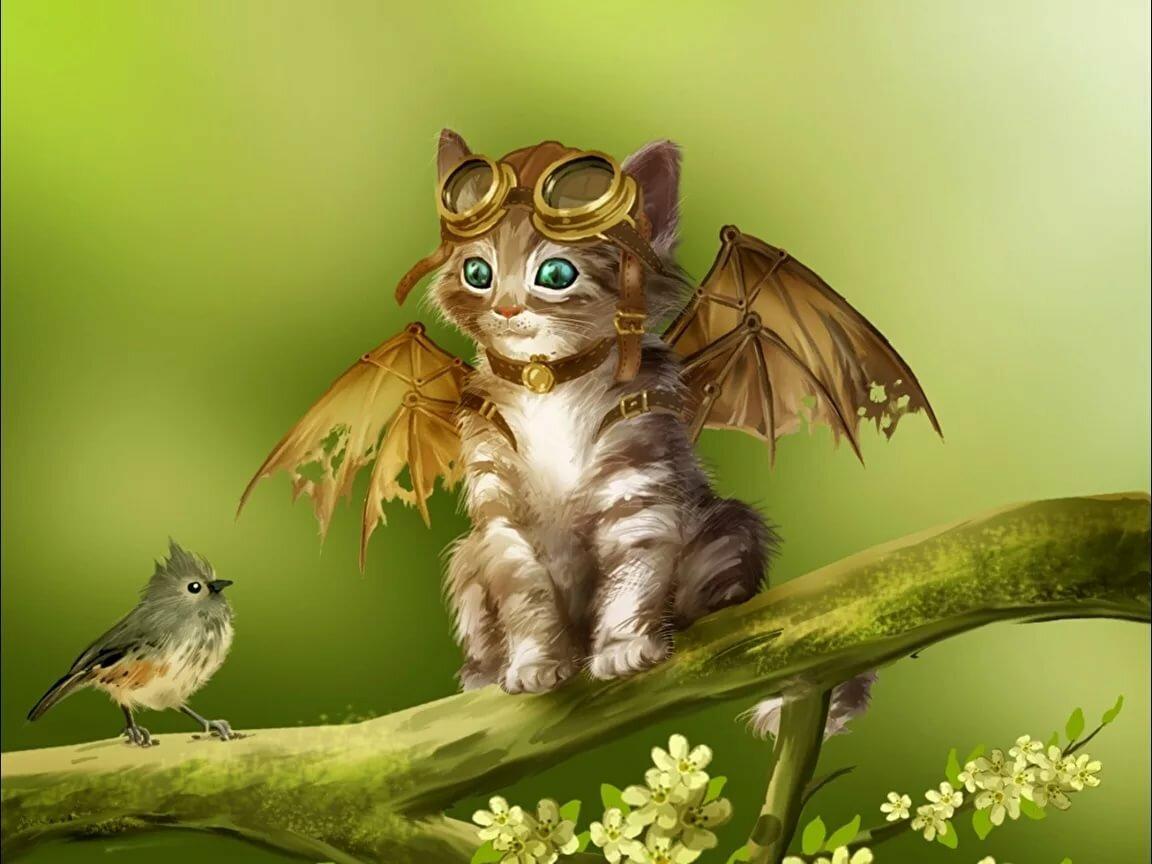 Нарисованные картинки с животными красивые и смешные