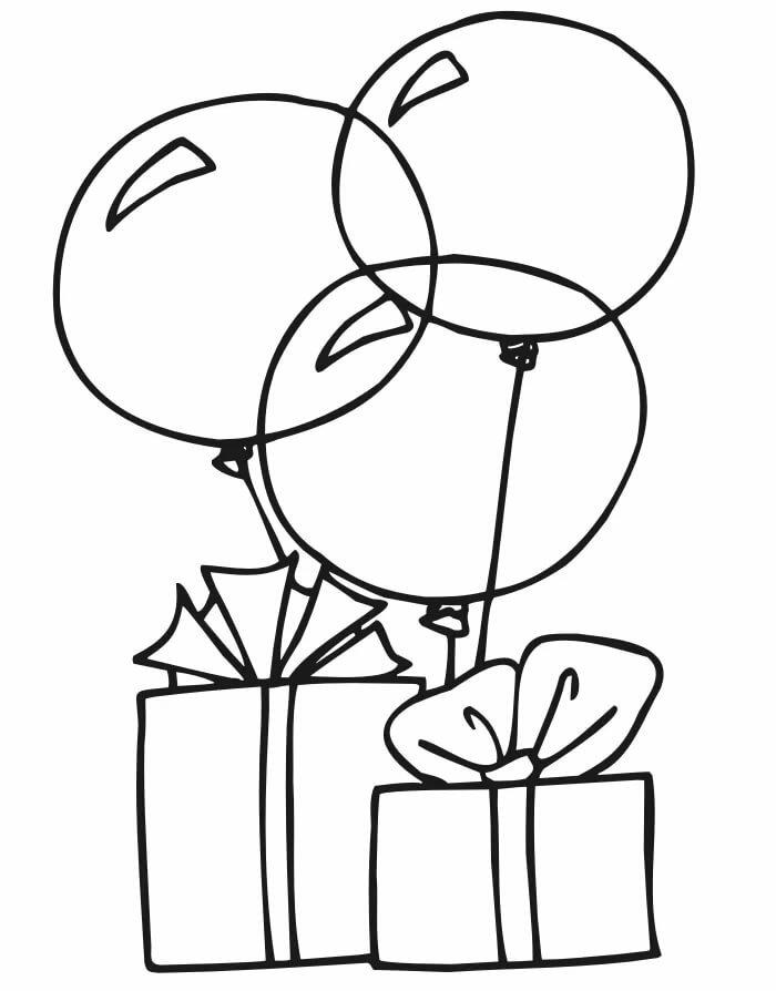 Картинки черно-белые с днем рождения девушке