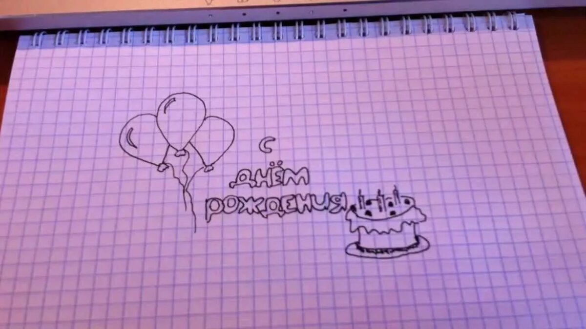 Как нарисовать открытку для папы на день рождения своими руками, прикольные