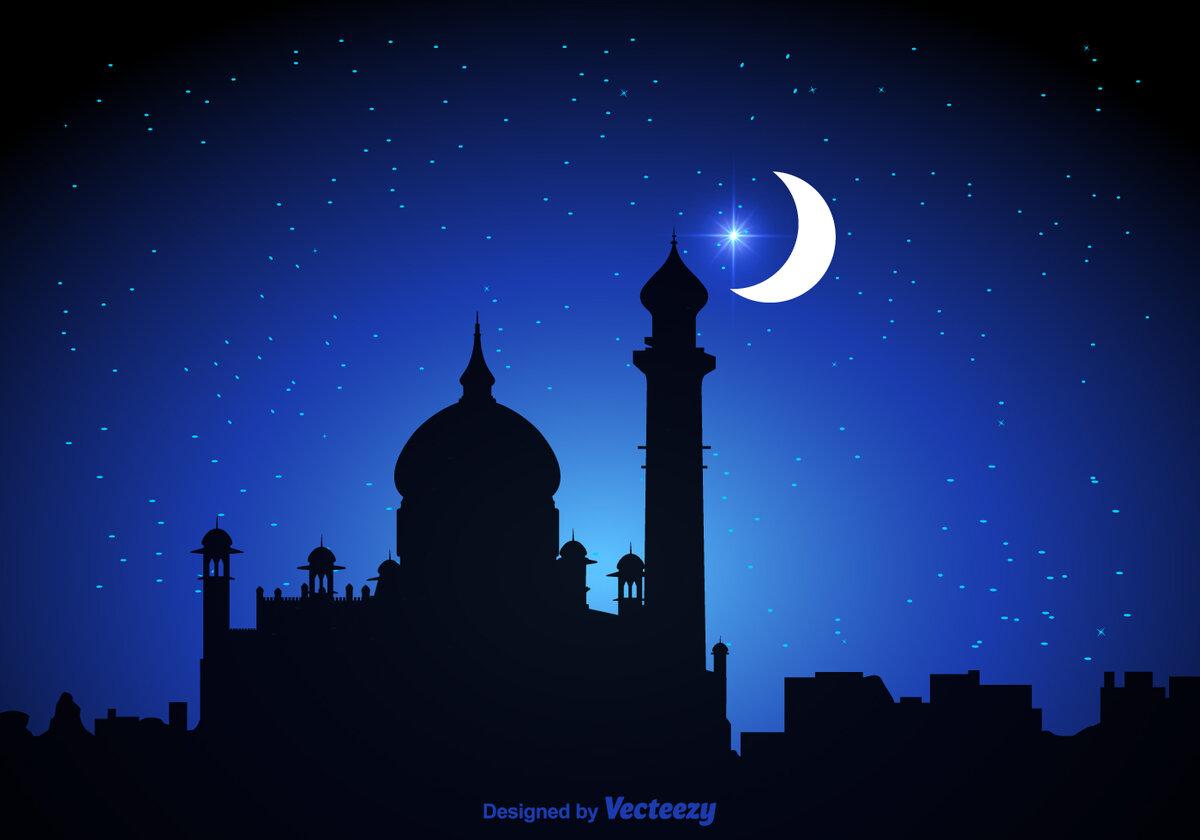 Картинки мусульманские луна