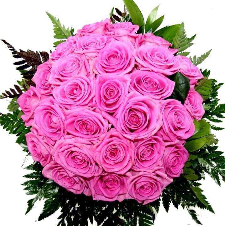 Картинки букет розовых