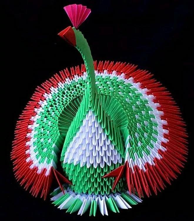 Картинки оригами из бумаги модульное