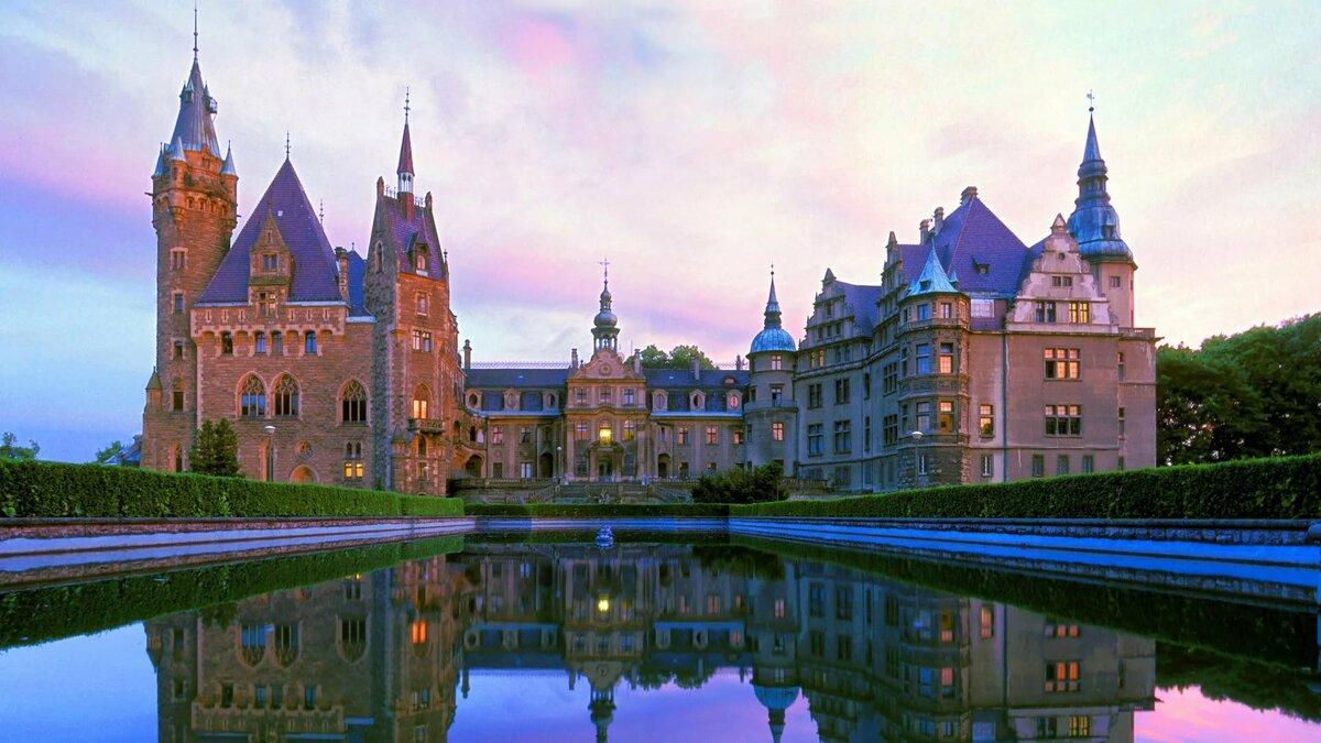 Королевские замки картинки