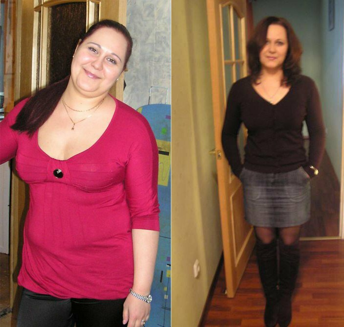 Сбросить вес на 20 кг за полгода