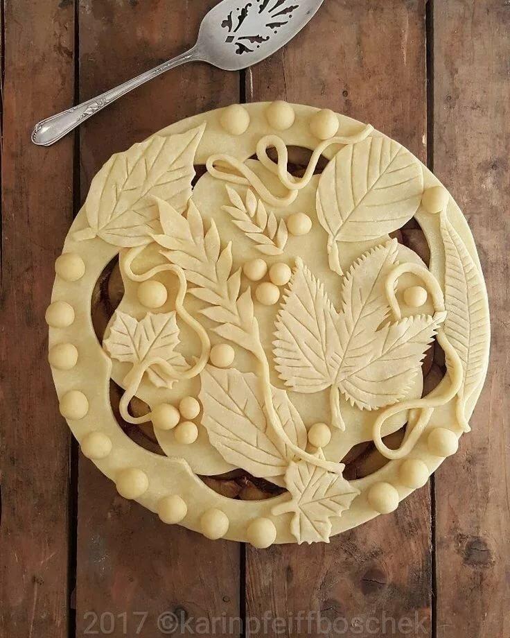 Пироги украшение в картинках