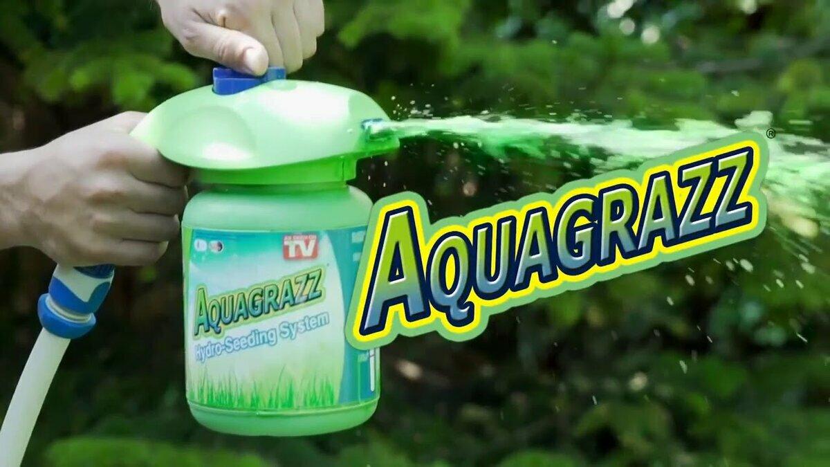 Жидкий газон AquaGrazz в Альметьевске