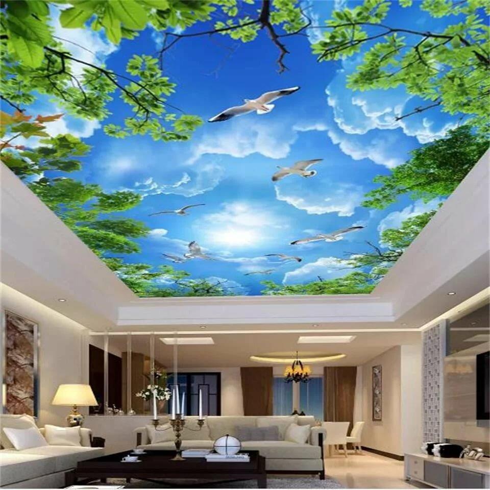 появления собственных фото потолок с картинками следует помнить, что