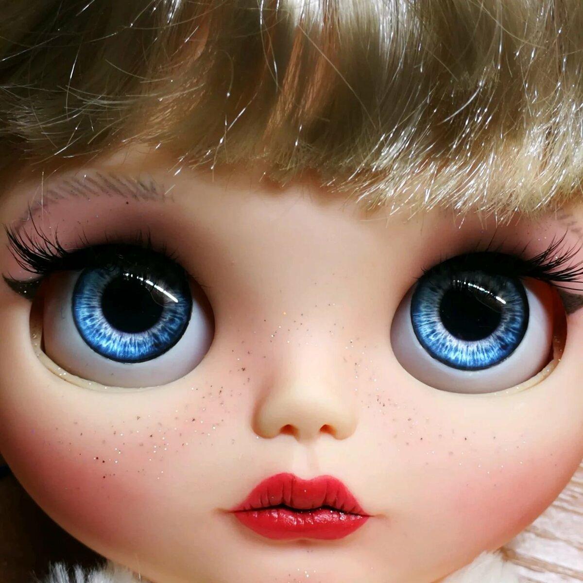 картинки только глаза кукол разным направлением полос