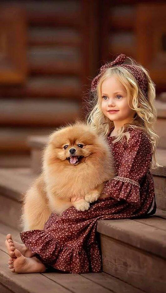 Милые смешные картинки с животными и детьми