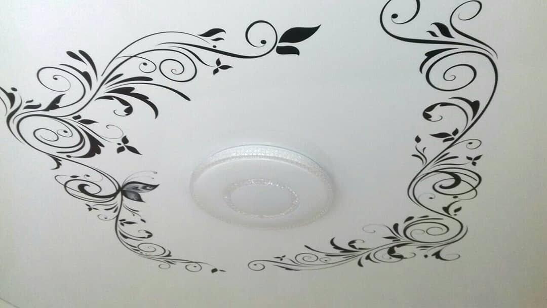 картинки с узорами на потолок часть