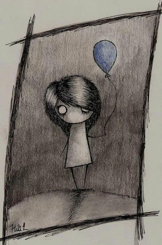 Поздравление бабушку, депрессивные картинки для срисовки с надписями