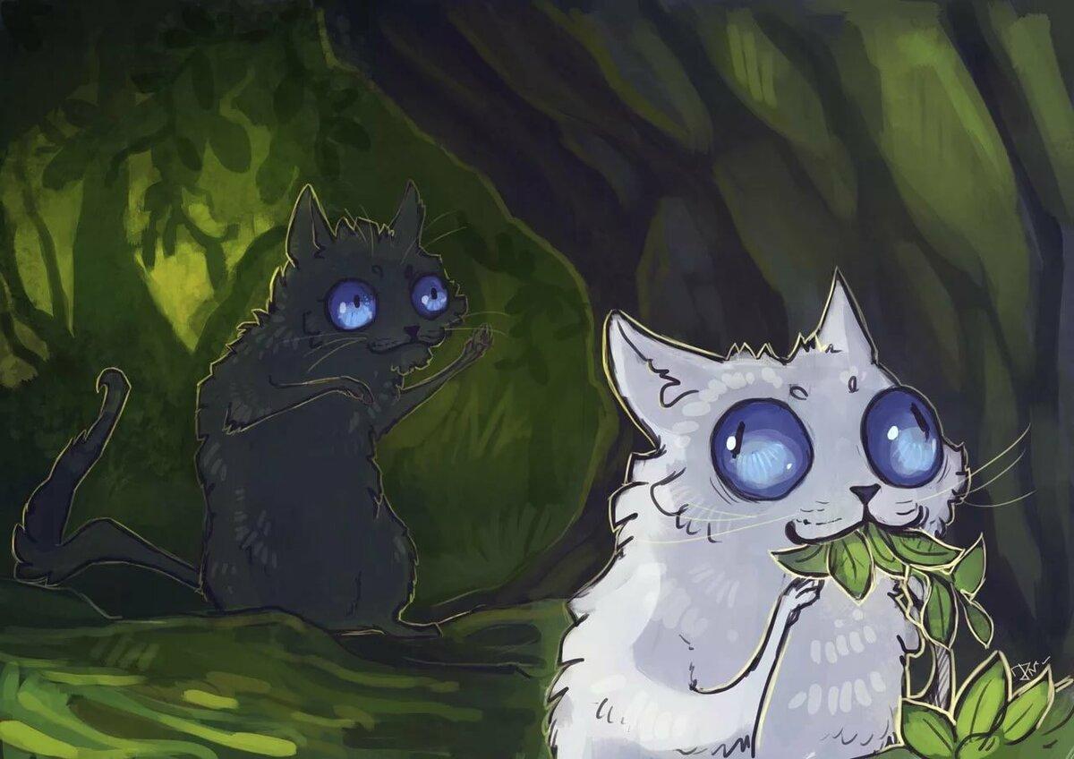 Картинки и арты котов воителей