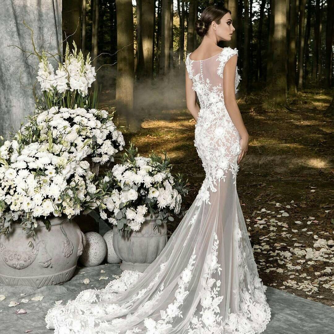 Свадебные платья новые коллекции картинки