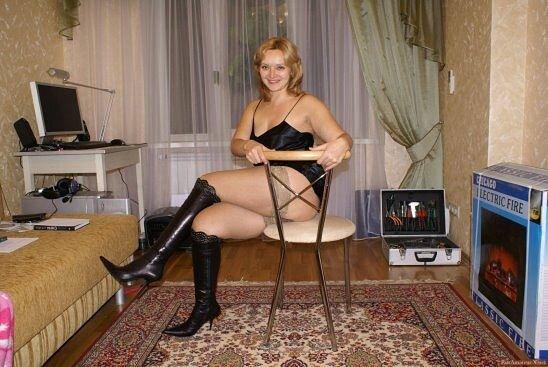 фото домашнее русских развратных женщин - 6