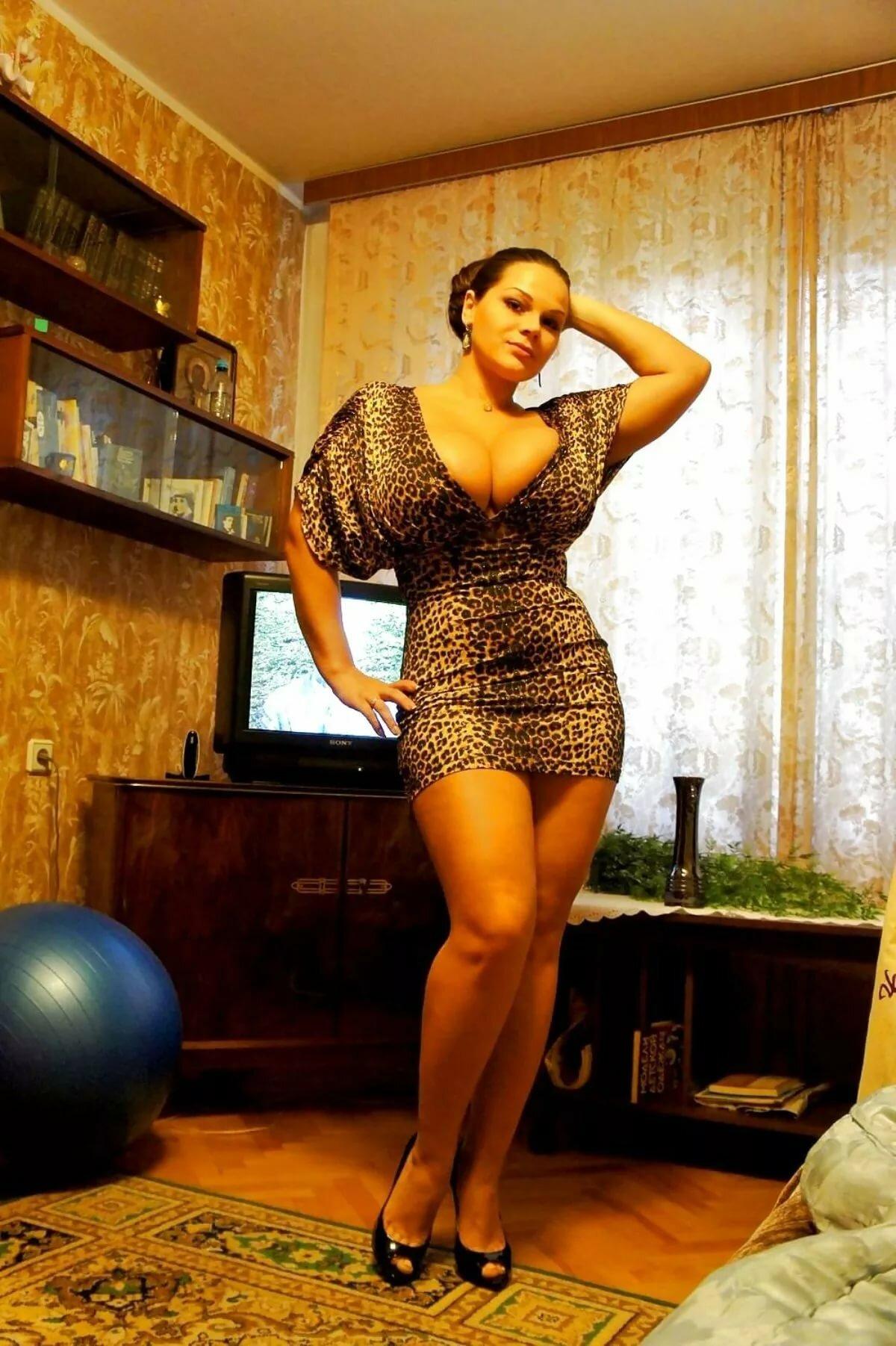 Шикарная дамочка с большими, российские любители порно