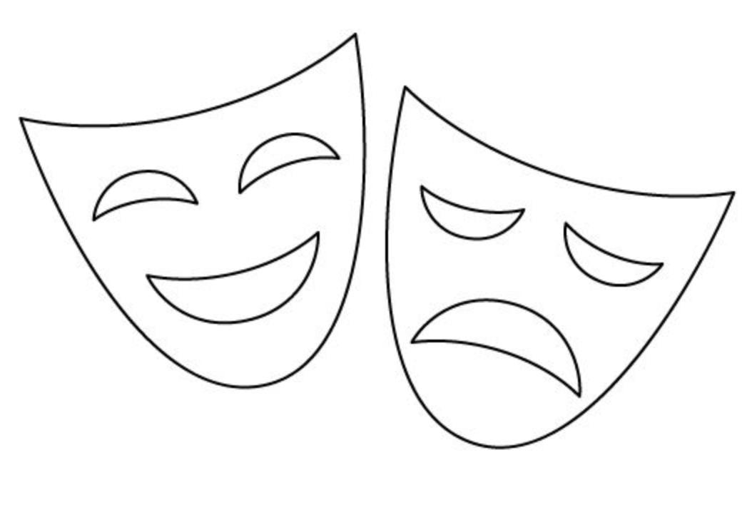 Контур маски картинки