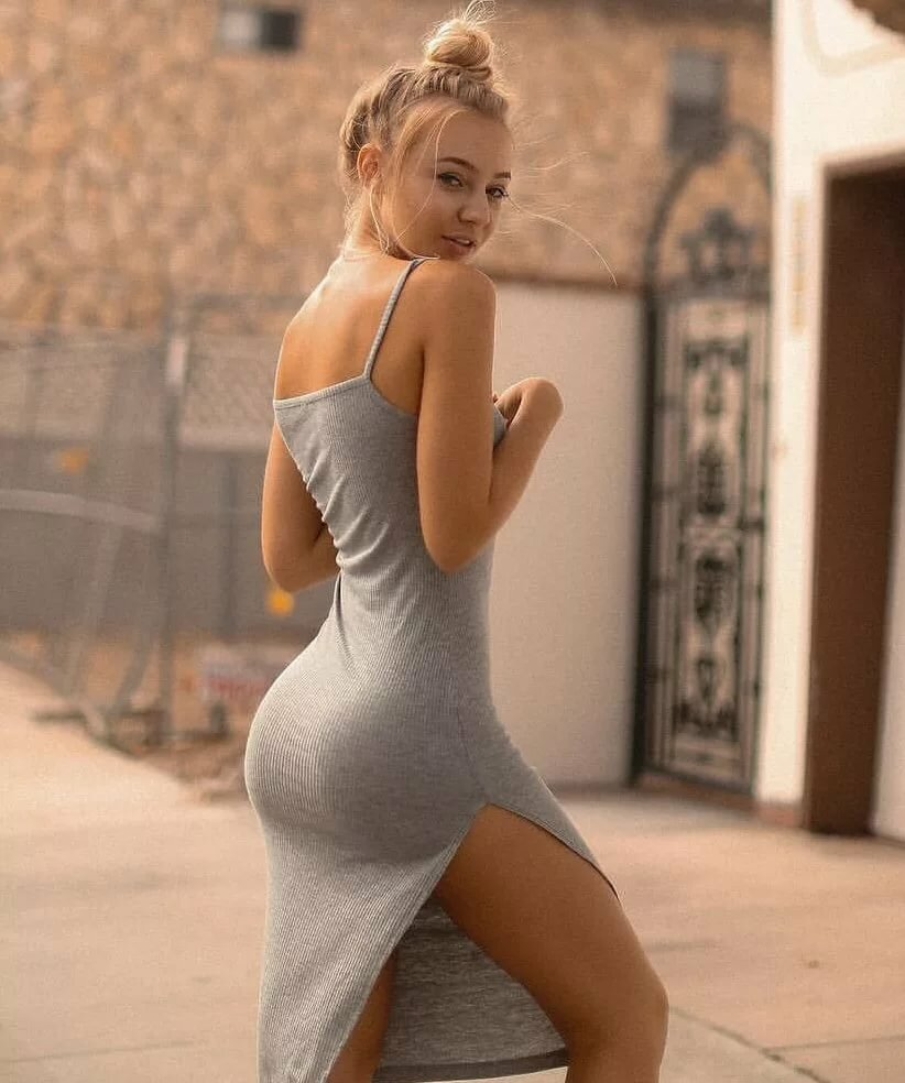Young girls in sexy dresses 1