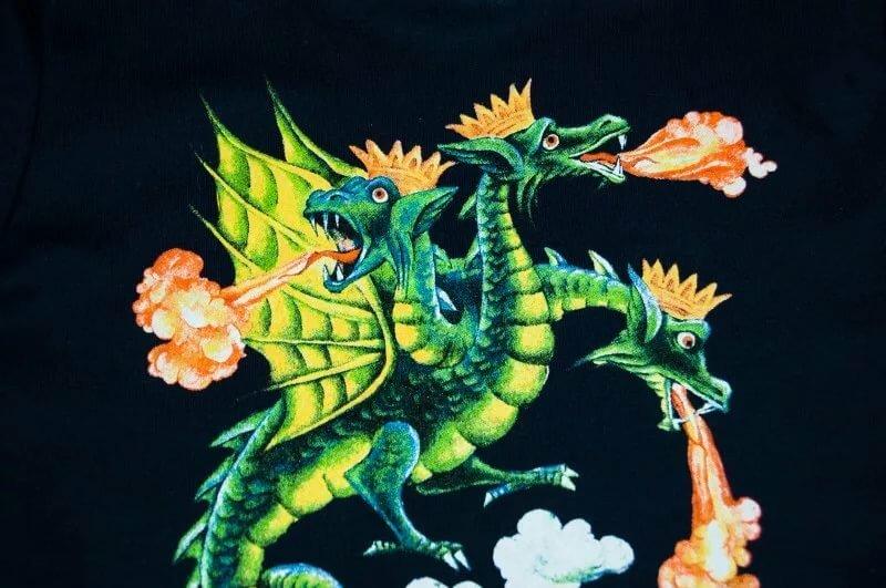 Картинка сказочного змея горыныча