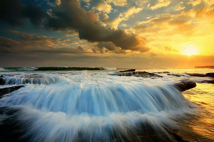 как сделать фотография показывающая удивительную красоту воды утра аппетитной картинки